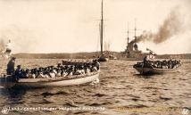 S.M.S. Helgoland, Landungsmanöver