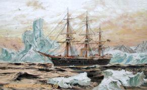 S.M.S. Moltke in Südgeorgien, 1882
