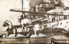 S.M.S. Ostfriesland, Schwere Artillerie