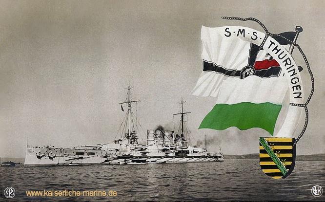 S.M.S. Thüringen, Linienschiff