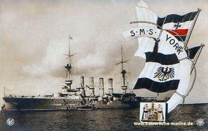 S.M.S. Yorck, Großer Kreuzer