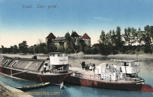 Sissek (Sisak), Stari grad
