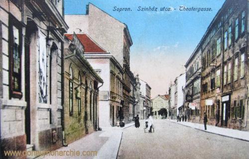 Ödenburg (Sopron), Theatergasse