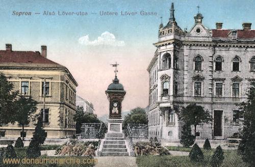 Ödenburg (Sopron), Untere Löver Gasse