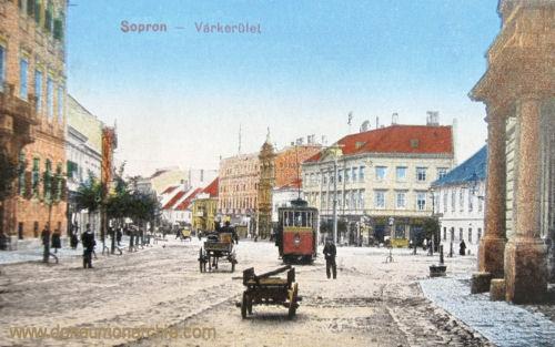 Ödenburg (Sopron), Várkerület (Grabenrunde)