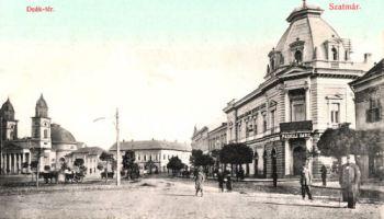 Szatmár (Sathmar - Satu Mare), Deák tér (Marktplatz)