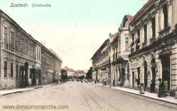 Szatmár (Sathmar - Satu Mare), Eötvös-utca