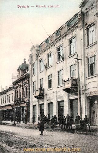 Szatmár (Sathmar - Satu Mare), Viktoria szálloda (Hotel Viktoria)