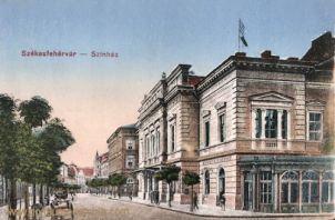 Stuhlweißenburg (Székesfejérvár), Színház (Theater)