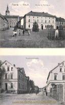 Tanna, Markt, Rathaus und Koskauerstraße