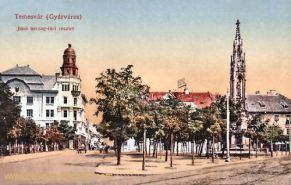 Temesvár, Jenö herceg-téri részlet