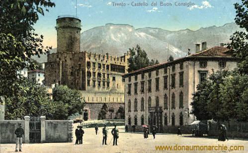 Trient, Castello