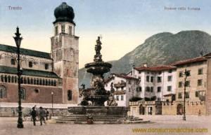 Trient, Duomo colla fontana