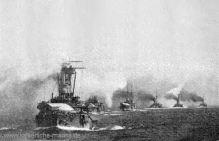 deutsche Linienschiffe in chinesischen Gewässern 1900