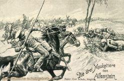 Allenstein, Die drei Musketiere