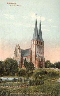 Allenstein O.-Pr., Garnison-Kirche