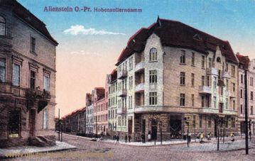 Allenstein O.-Pr., Hohenzollerndamm