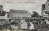 Braunsberg, Partie an der Parssage mit großer Amtsmühle