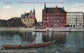 Breslau, St. Joseph-Krankenhaus der Grauen Schwestern mit Noviziat
