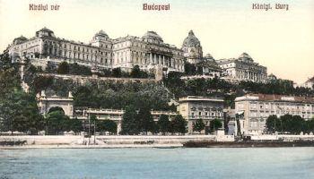 Budapest, Kiralyi var - Königliche Burg