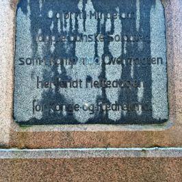 Dänisches Denkmal am Danewerk bei Oeversee