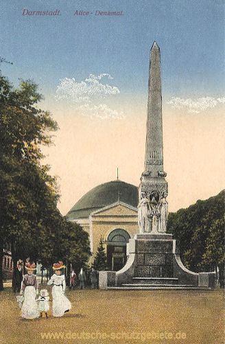 Darmstadt, Alice-Denkmal