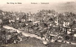 Der Krieg im Osten, Gerdauen, Totalansicht