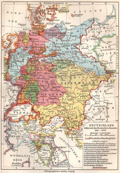 Deutscher Bund 1815-1866