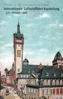 Frankfurt a. M., Bethmannstraße mit Rathaus