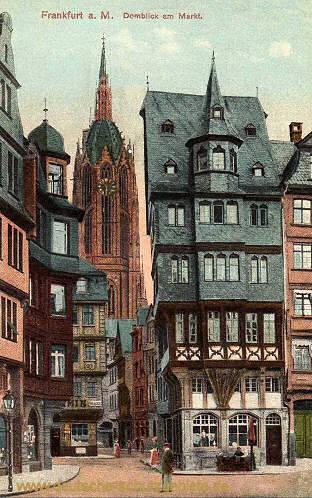 Frankfurt a. M., Domblick am Markt