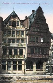 Frankfurt a. M., Haus Frauenstein und Salzhaus