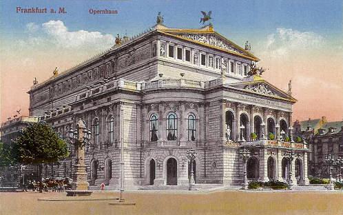 Frankfurt a. M., Opernhaus