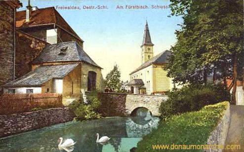 Freiwaldau, Fürstliches Schloss