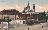 Fulda, Bonifacius-Denkmal, Hauptwache und Dom