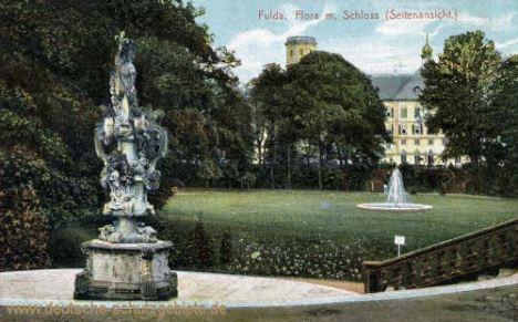 Fulda, Flora mit Schloss