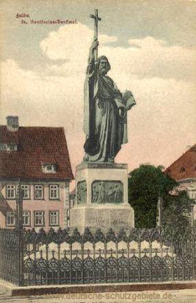 Fulda, St. Bonifacius-Denkmal