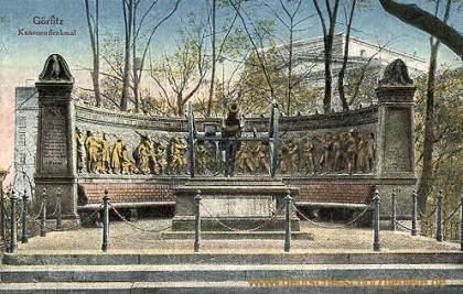 Görlitz, Kanonendenkmal