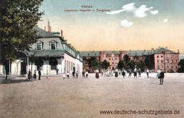 Hanau, Infanterie-Kaserne und Zeughaus