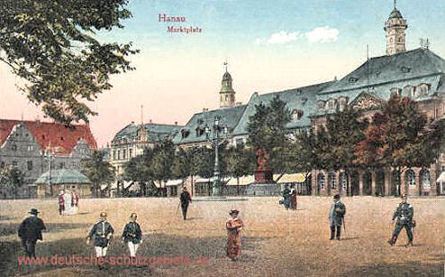 Hanau, Marktplatz