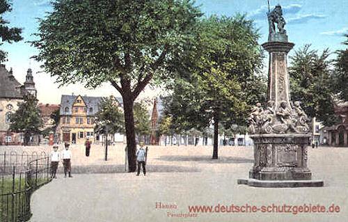 Hanau, Paradeplatz