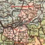 Großherzogtum Hessen, Karte 1914