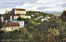 Hirschberg im Riesengebirge, Cavalierberg mit Blick auf die Schneekoppe