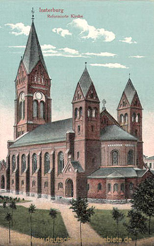 Insterburg, Reformierte Kirche