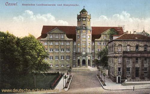 Kassel, Hessisches Landesmuseum und Hauptwache