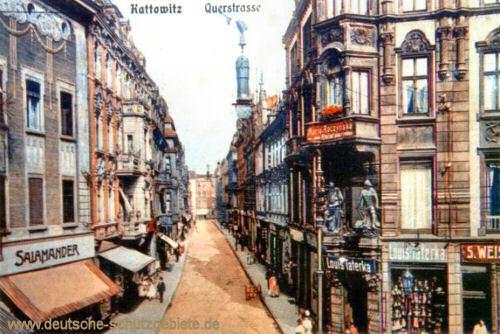 Kattowitz, Querstraße