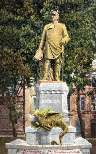 Königsberg i. Pr., Bismarck-Denkmal