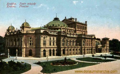 Krakau, Theater
