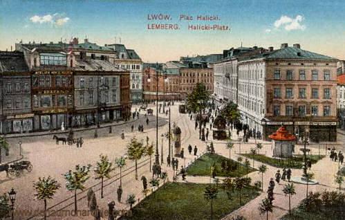 Lemberg, Halicki-Platz