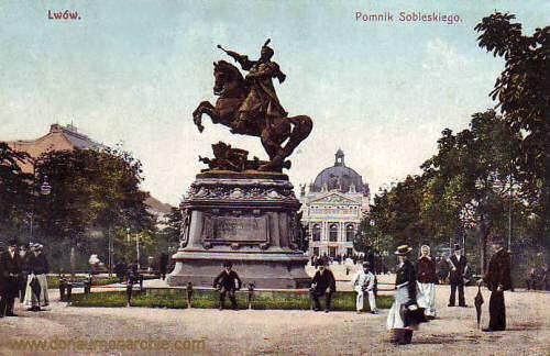 Lemberg, Sobieski-Denkmal