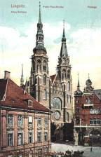 Liegnitz, Altes Rathaus, Peter Paul-Kirche, Passage